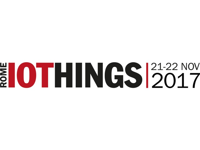 Presenti all'evento IOTHINGS Rome 2017